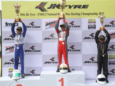 1st-Runner-up,-Race-1-JK-Tyre-National-Rotax-Max-Karting-Championship-India-2013