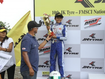 1st-Runner-up,-Race-2-JK-Tyre-National-Rotax-Max-Karting-Championship-India-2013
