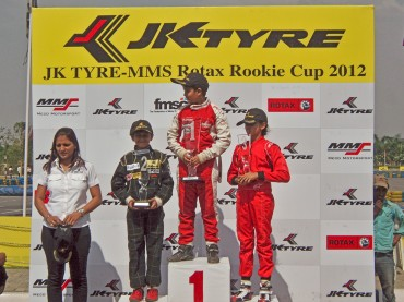 1st-Runner-up-in-Race-1JK-Tyre-MMS-Rotax-Rookie-Cup-2012