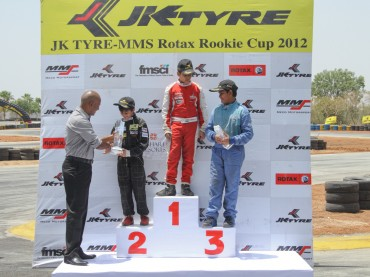 1st-Runner-up-in-Race-2-JK-Tyre-MMS-Rotax-Rookie-Cup-2012