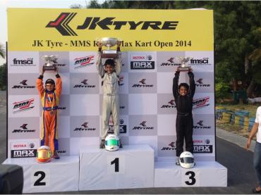 Champion JK Tyre MMS Rotax Kart Open 2014