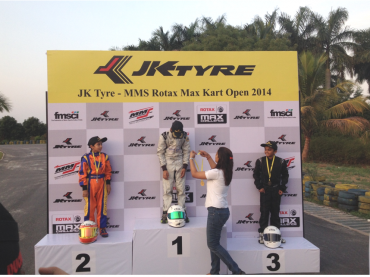 WINNER Race-1  JK Tyre MMS National  Kart Open  2014