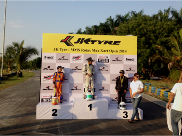 WINNER Race-2  JK Tyre MMS National  Kart Open  2014
