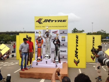 Winner, Round - 2 JK Tyre  National Rotax Max Karting Championship India 2014