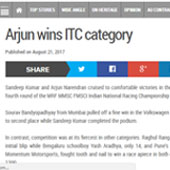 Arjun-wins-ITC-category
